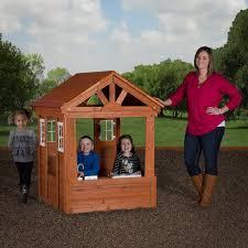 backyard discovery columbus all cedar playhouse walmart com