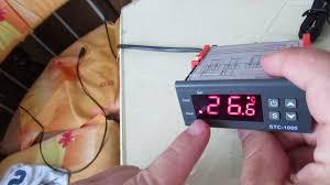 elitech stc 1000 temperature controller set manual youtube