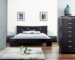 small bedroom decorating ideas brown wooden bed frame white