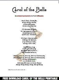 18 best carol of the bells activities images on pinterest