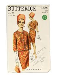 long in back short 60s in front 60 s butterick sewing pattern 60s butterick pattern no 3550