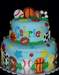 sports cake on cake central brooke u0027s 8th birthday sports