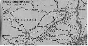 Hudson River Map L U0026hr