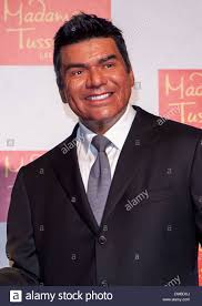 george lopez wax figure unveiled in honor of national hispanic