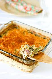 green bean casserole is a classic thanksgiving side dish