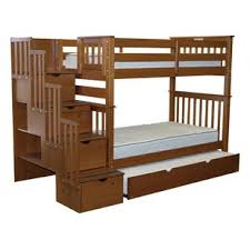 Wooden Bunk Bed With Stairs Bunk Loft Beds With Stairs