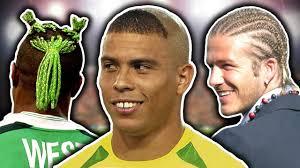 50 worst footballers u0027 haircuts ronaldo beckham u0026 neymar youtube