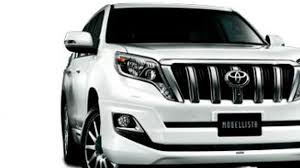 land cruiser prado car toyota land cruiser prado modellista accessories introduced