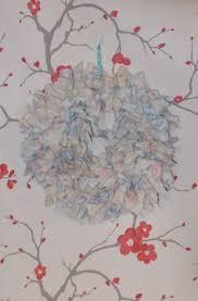 shabby chic rag wreath ebay ribbon and rag wreaths pinterest