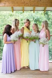best 25 pastel bridesmaids ideas on pinterest pastel bridesmaid