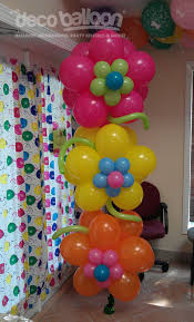 flower birthday balloons design idea no link only picture for