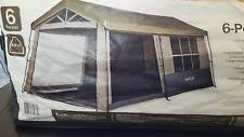 6 person cabin camping tents ebay