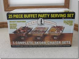 hope prc auction 2012 25 piece chafing dish buffet serving set