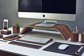 Brown Leather Desk Accessories Leather Desk Accessories Sets Attractive With Regard To Set Plans