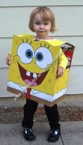 Boy Halloween Costume Coolest Homemade Spongebob Costume Ideas Halloween Costumes
