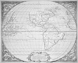 Map Of The New World by Maps Image Gallery