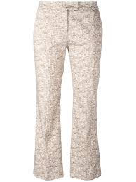 incotex tailored trousers buy incotex 3d print cropped trousers