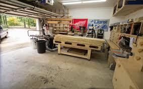 one car garage workshop 2 car garage woodshop shop tour 2015 jays custom creations