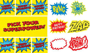 Superhero Photo Booth Instant Photo Booth Signs Superhero By Simplystyledhome On Etsy