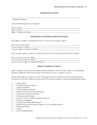 Financial Power Of Attorney Forms Free by 10 Power Of Attorney Forms