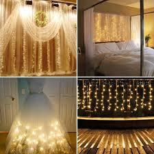 Curtain Fairy Lights by Online Store Window Curtain Lights Kshioe 300 Leds 3mx3m White