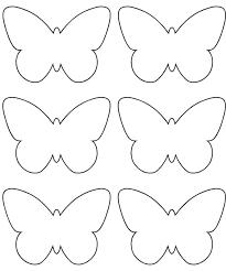 Formes de papillons en papier pour la déco