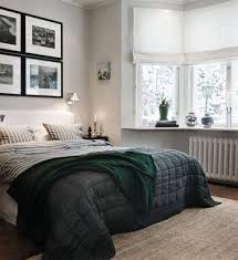 masculine bedroom paint colors black wooden stained frame bed ball