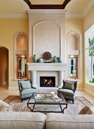 Best Mediterranean Architecture Images On Pinterest - Living rooms with fireplaces design ideas