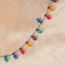 light necklace light bulb necklace