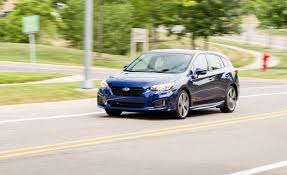 2017 subaru impreza hatchback white 2017 subaru impreza long term test update review car and driver