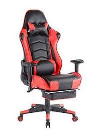 support lombaire bureau tectake chaise fauteuil siège de bureau racing sport ergonomique