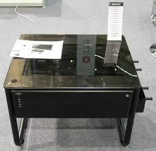 bureaux pc bureau en verre table en verre habitat photo 2 2 table en verre de