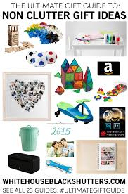 the ultimate gift guide non clutter gifts