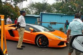 lamborghini car owners in chennai other side of the bike and luxury car owners allege