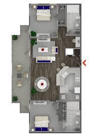 studio 1 2 bedroom apartments in atlanta highland walk print floor plan lease online