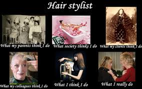 Hairdresser Meme - image 252039 what people think i do what i really do know
