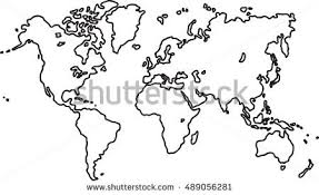 world map sketch stock images royalty free images u0026 vectors