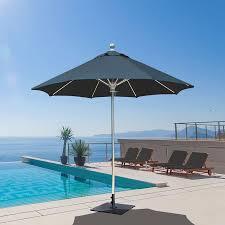 8 Foot Patio Umbrella by 722 7 5 U0027 Deluxe Commercial Use Galtech International Market