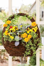 Gardening Basket Gift Ideas by Fall Container Gardening Ideas Southern Living