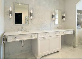 furniture elegant unique white bathroom vanity with double sinks