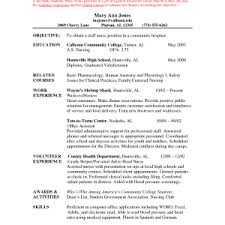 Chronological Resume Template Word Cover Letter Sample Chronological Resume Non Chronological Resume