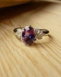 Purple Wedding Rings by Best 25 Purple Engagement Rings Ideas On Pinterest Purple