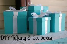 life as the coats diy tiffany u0026 co boxes