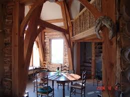 custom log cabin surrounded by grand teton vrbo