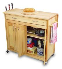 Kitchen Cabinets On Wheels Kitchen Light Brown Wooden Kitchen Pantry Cabinet With Tow Pair