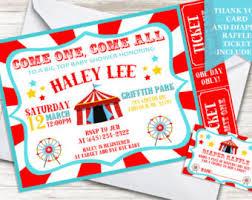 circus baby shower circus baby shower etsy