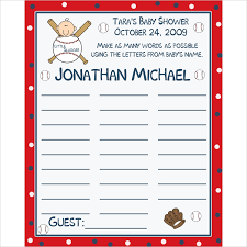 free printable sports themed baby shower invitations ilcasarosf com