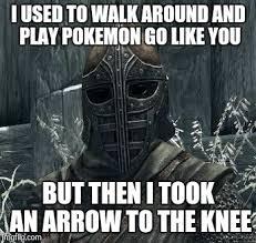All Meme Generator - arrow to the knee meme generator imgflip