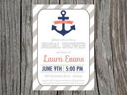 Bridal Shower Invite Wording Nautical Themed Bridal Shower Invitation Wording Nautical Bridal