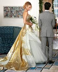 lively wedding dress lively s stunning gold wedding dress
